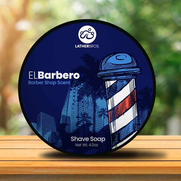 Lather Bros. - El Barbero - Soap image