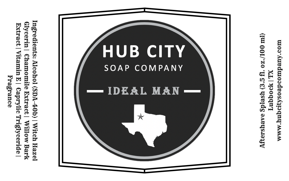 Hub City Soap Company - Ideal Man - Aftershave image