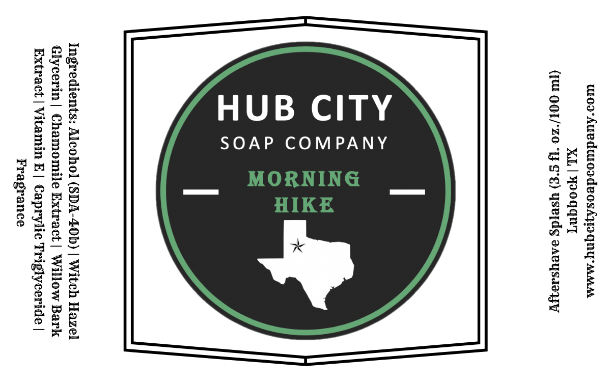 Hub City Soap Company - Morning Hike - Aftershave image