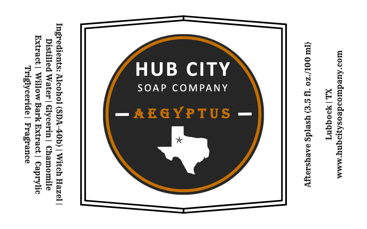 Hub City Soap Company - Aegyptus - Aftershave image