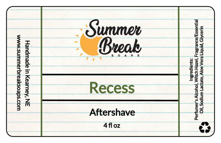Summer Break Soaps - Recess - Aftershave image