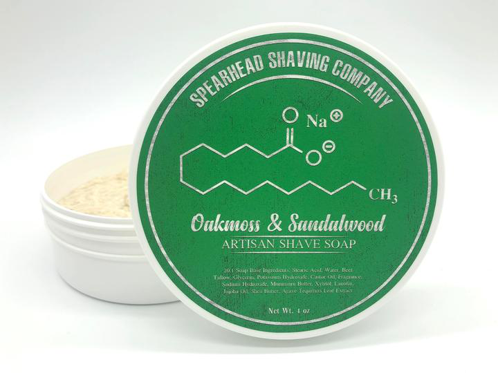 Spearhead Shaving Company - Oakmoss & Sandalwood - Soap image