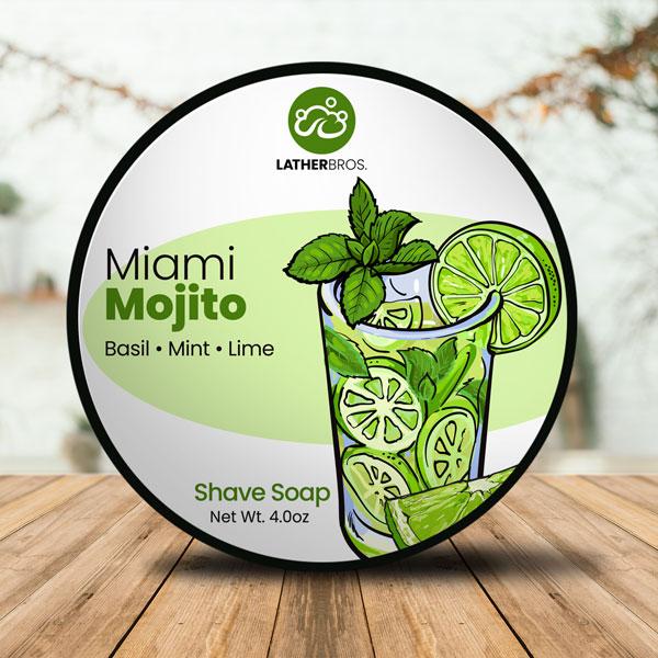 Lather Bros. - Miami Mojito - Soap image