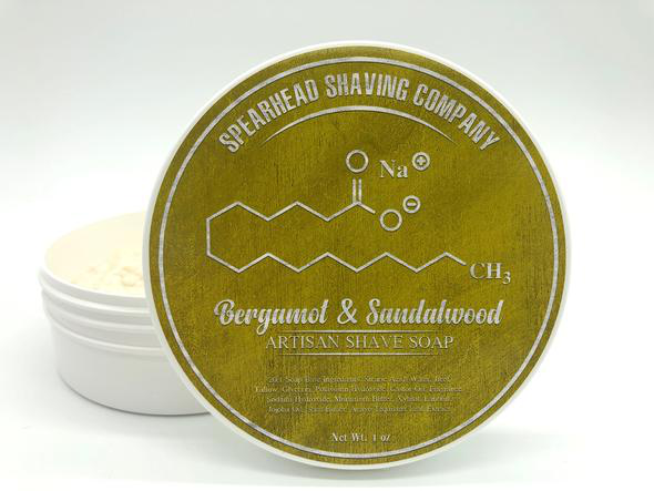 Spearhead Shaving Company - Bergamot & Sandalwood - Soap image