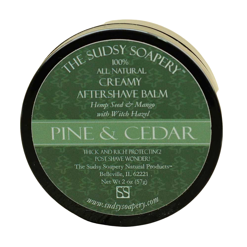 The Sudsy Soapery - Pine & Cedar - Balm image