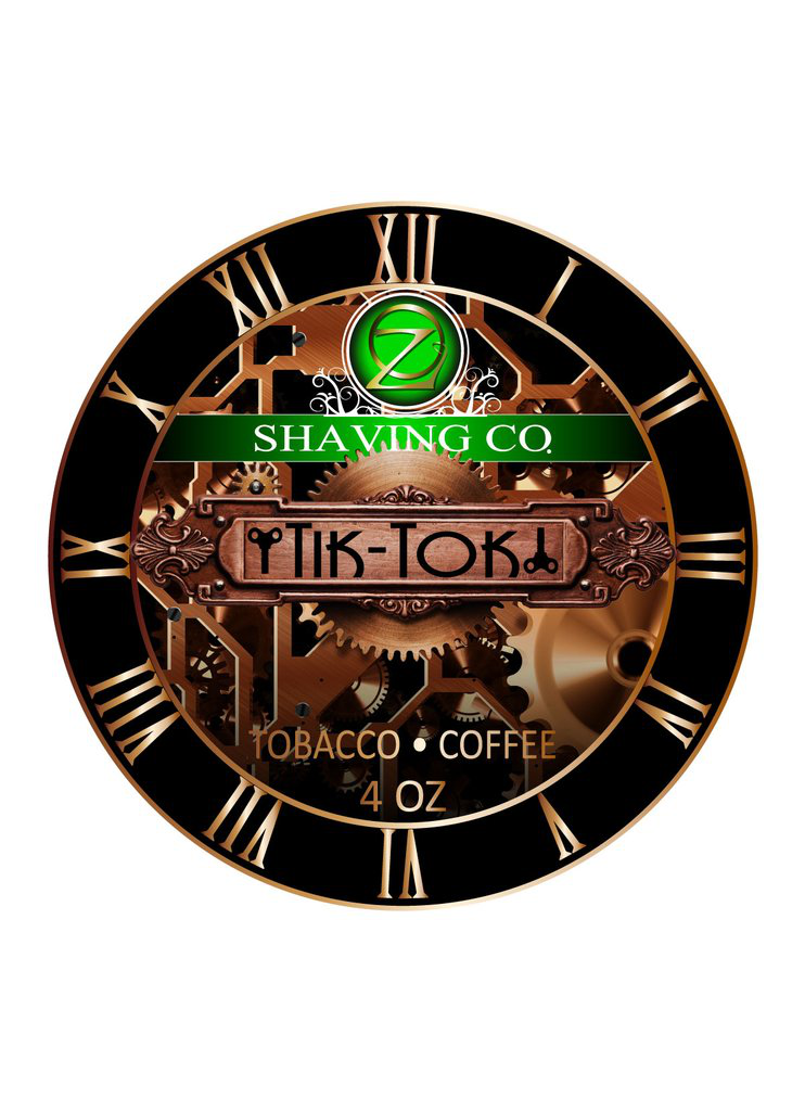 Oz Shaving Co. - Tik Tok - Soap image