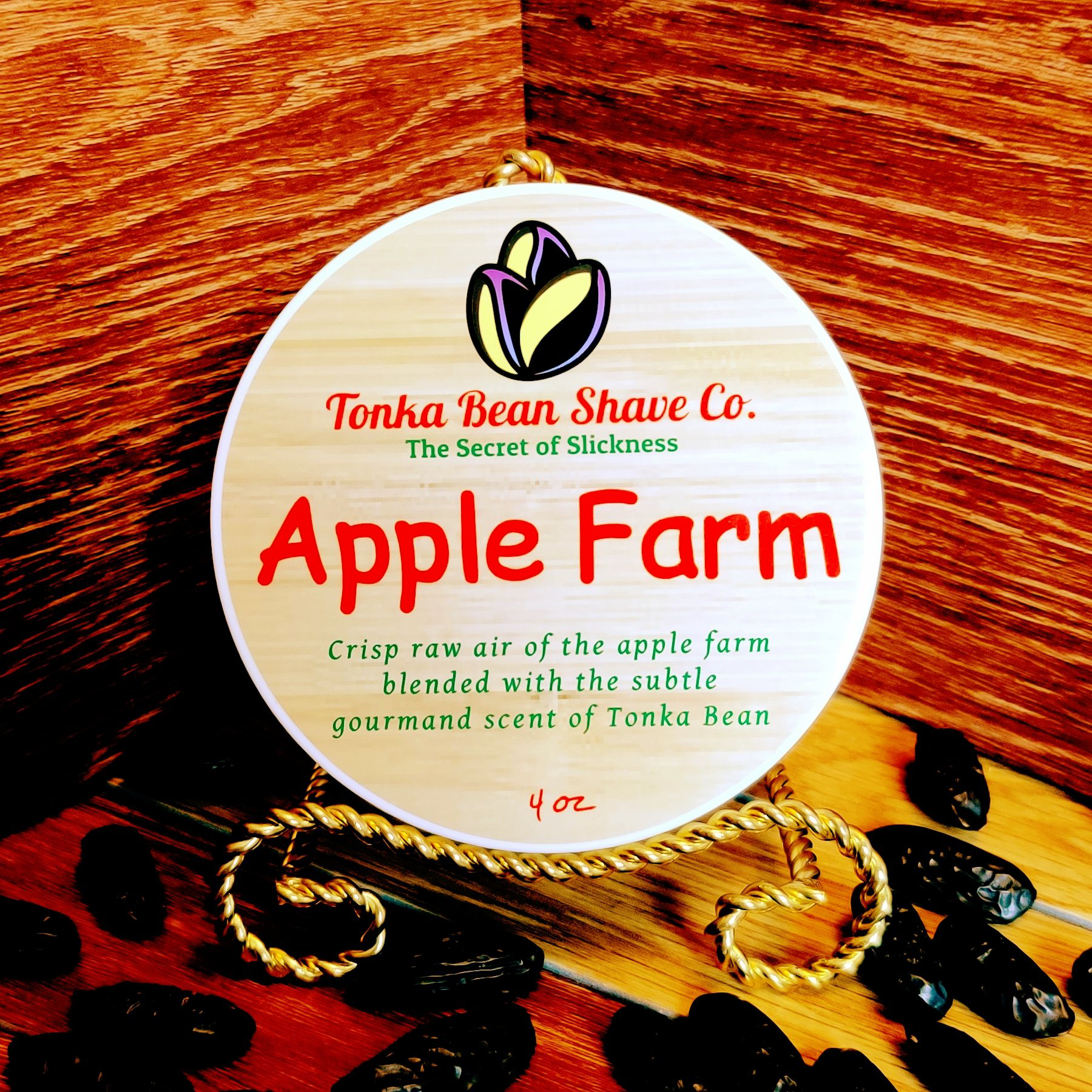 Tonka Bean Shave Co. - Apple Farm - Soap image