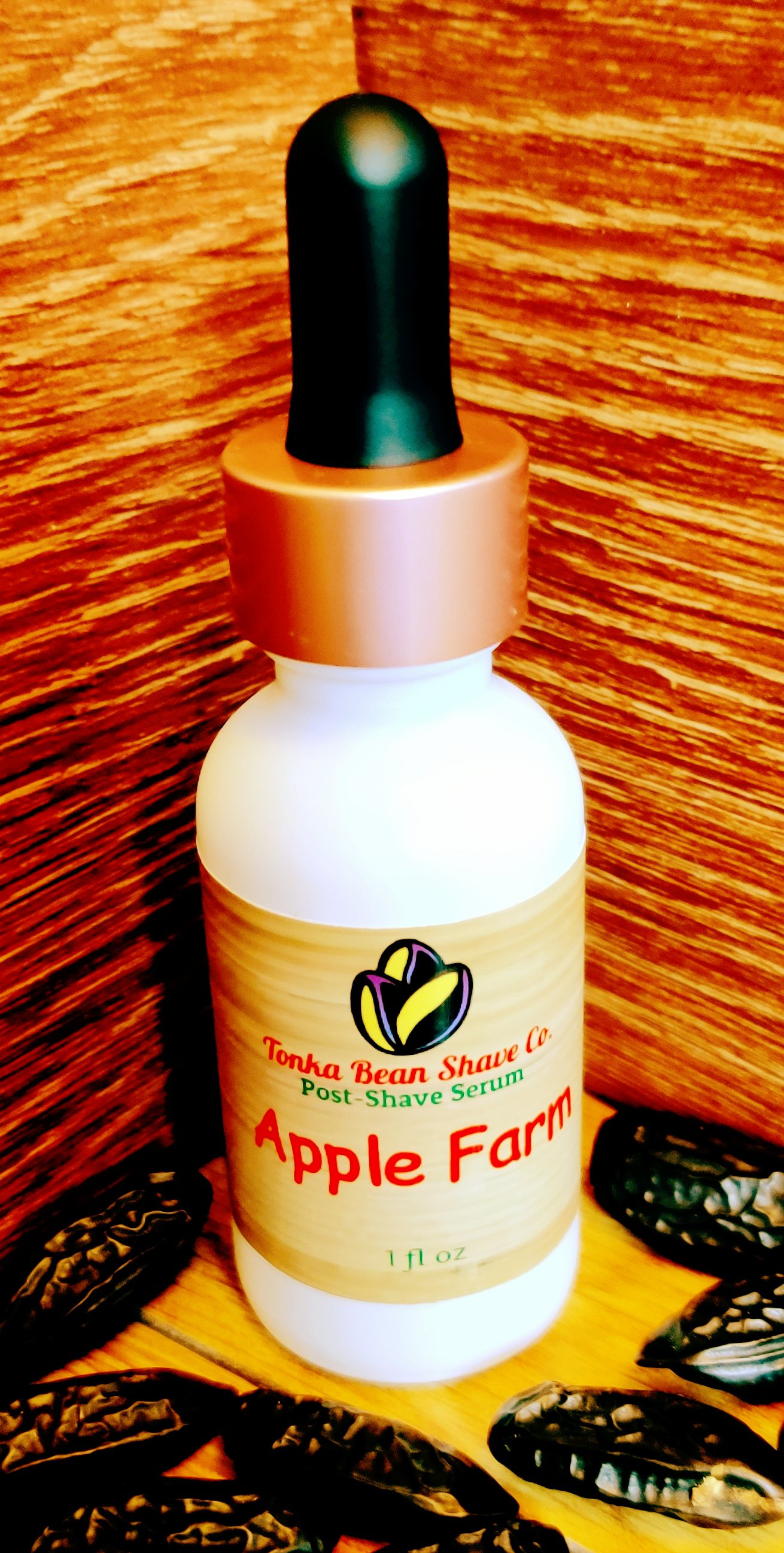 Tonka Bean Shave Co. - Apple Farm - Shave Serum image
