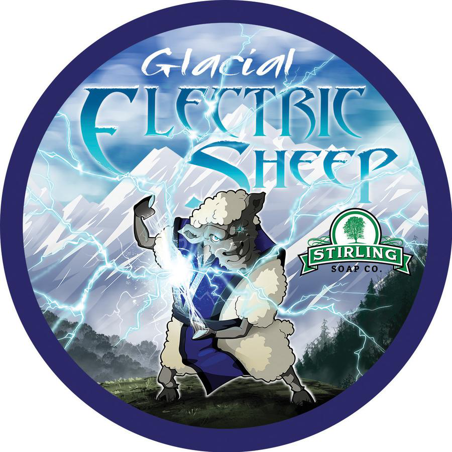 Stirling Soap Co. - Glacial, Electric Sheep - Soap image