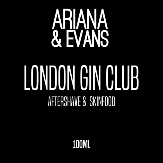 Ariana & Evans - London Gin Club - Aftershave image