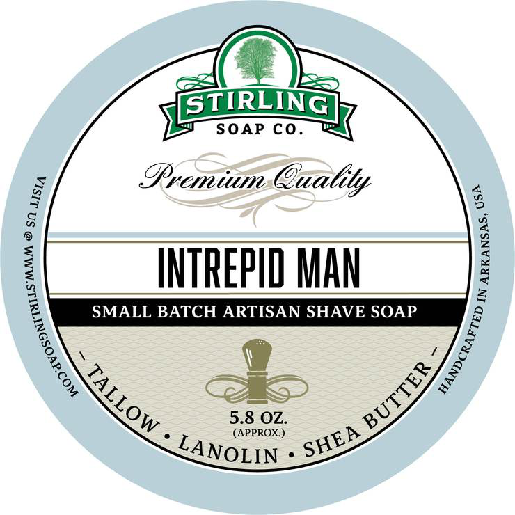 Stirling Soap Co. - Intrepid Man - Soap image