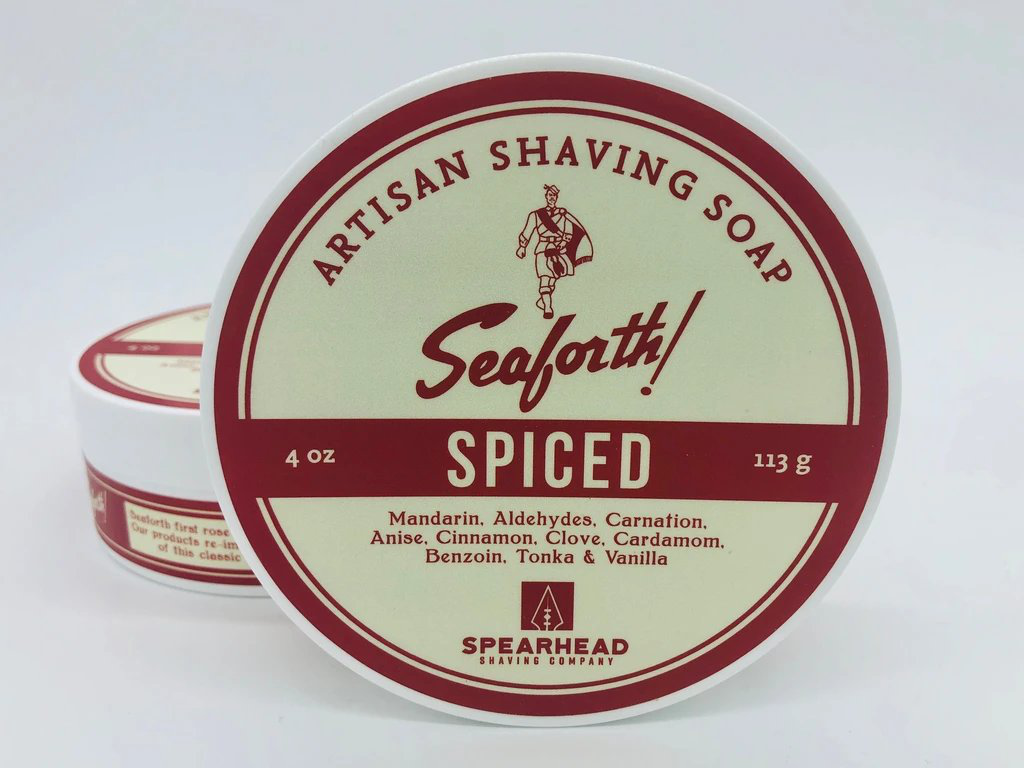 Spearhead Shaving Company - Seaforth! Spiced - Soap image