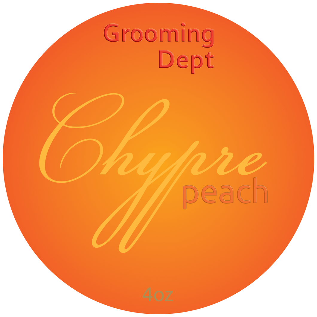 Grooming Dept - Chypre Peach - Soap image