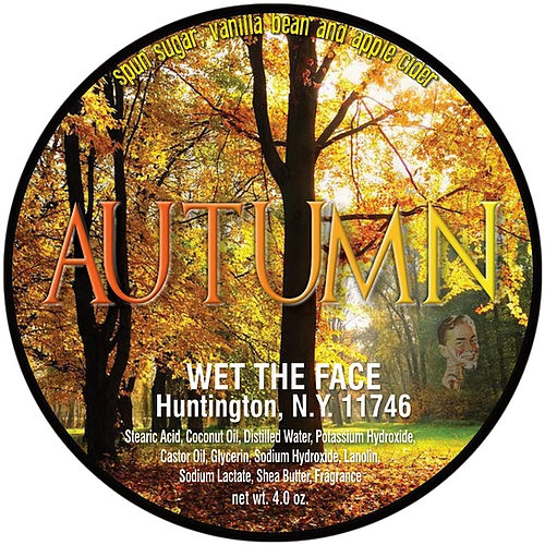 Wet The Face - Autumn - Soap image