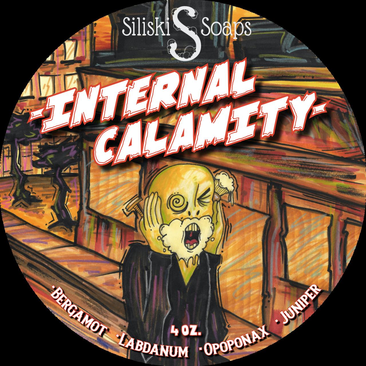 Siliski Soaps - Internal Calamity - Soap image