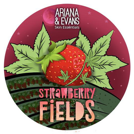 Ariana & Evans - Strawberry Fields - Soap image