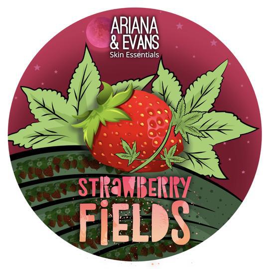 Ariana & Evans - Strawberry Fields - Soap image
