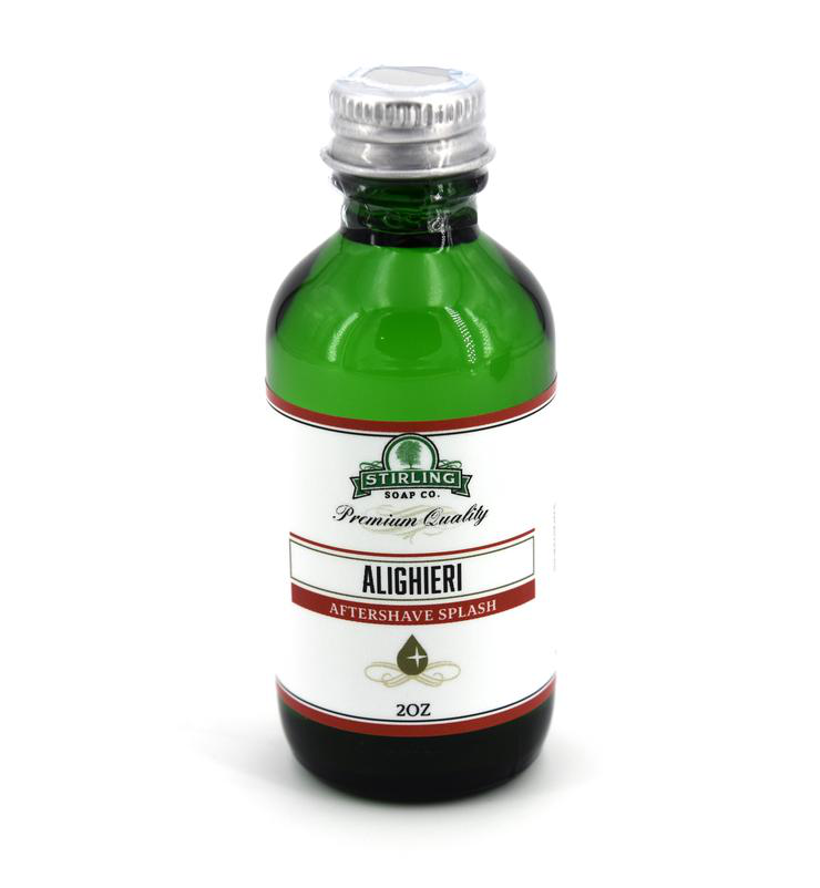 Stirling Soap Co. - Alighieri - Aftershave image