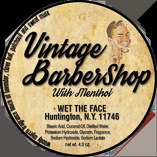 Wet The Face - Vintage Barbershop - Soap image