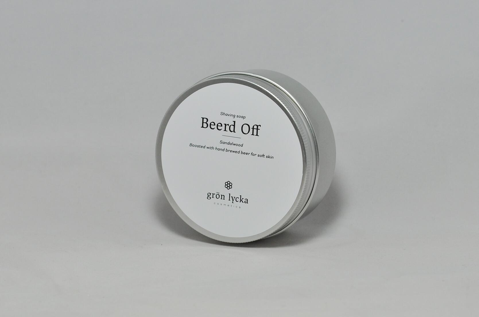 Grön Lycka - Beerd Off - Soap image