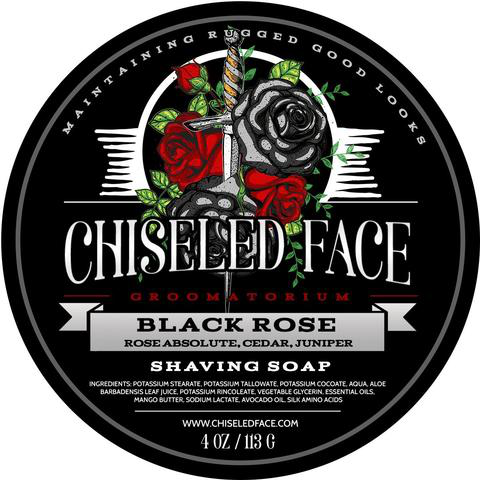 Chiseled Face - Black Rose - Soap image