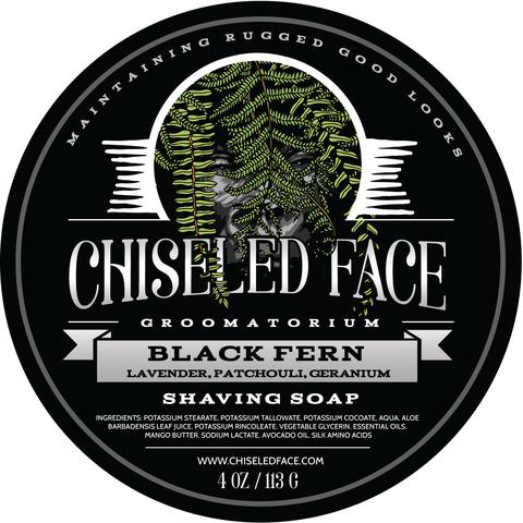 Chiseled Face - Black Fern - Soap image
