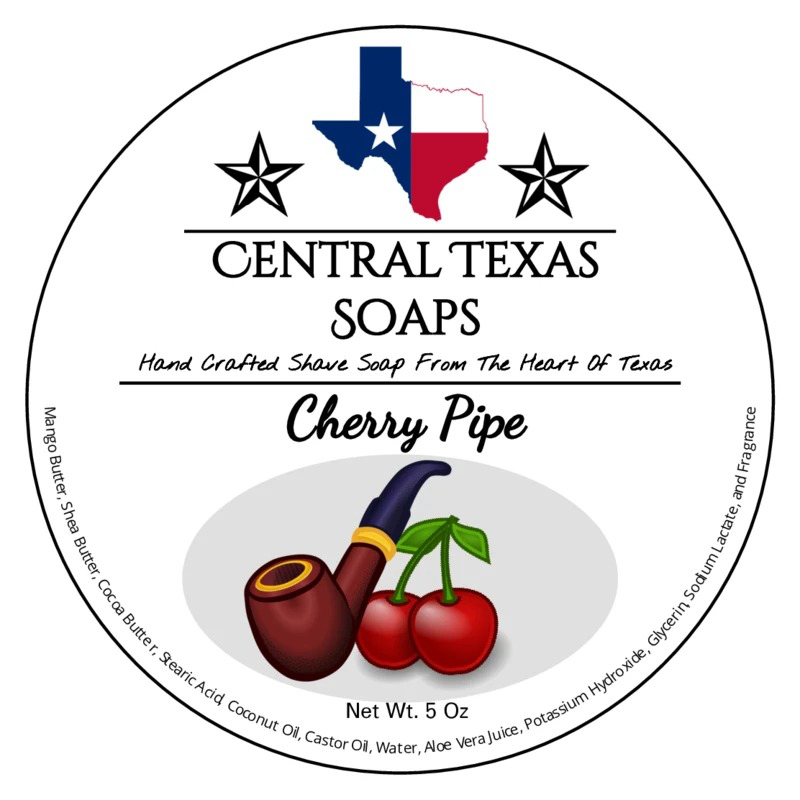 Central Texas Soaps - Cherry Pipe - Soap image