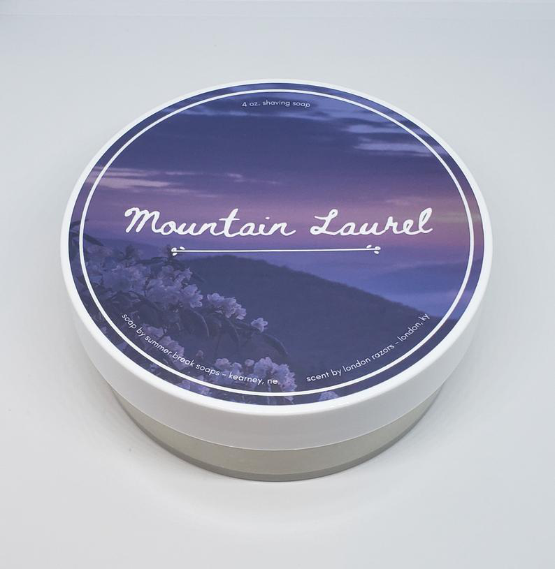 London Razors/Summer Break Soaps - Mountain Laurel - Soap image