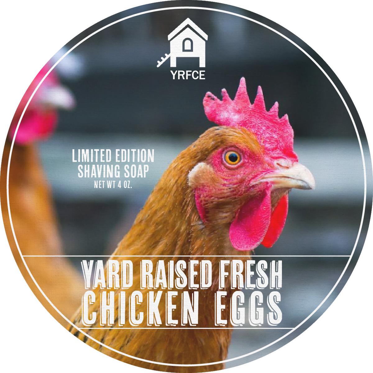 YRFCE - Yard Raised Fresh Chicken Eggs - Soap image