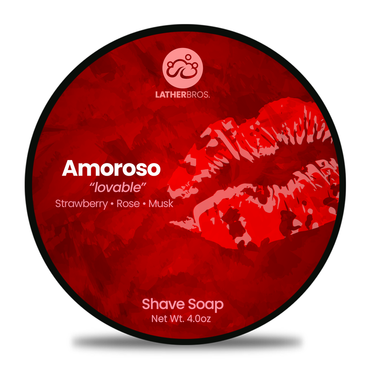 "Lather Bros. - Amoroso ""Lovable"" - Soap image"