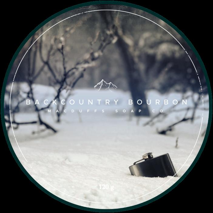 MacDuff's Soap Company - Backcountry Bourbon - Soap image