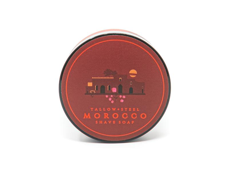 Tallow + Steel - Morocco (2021) - Soap image