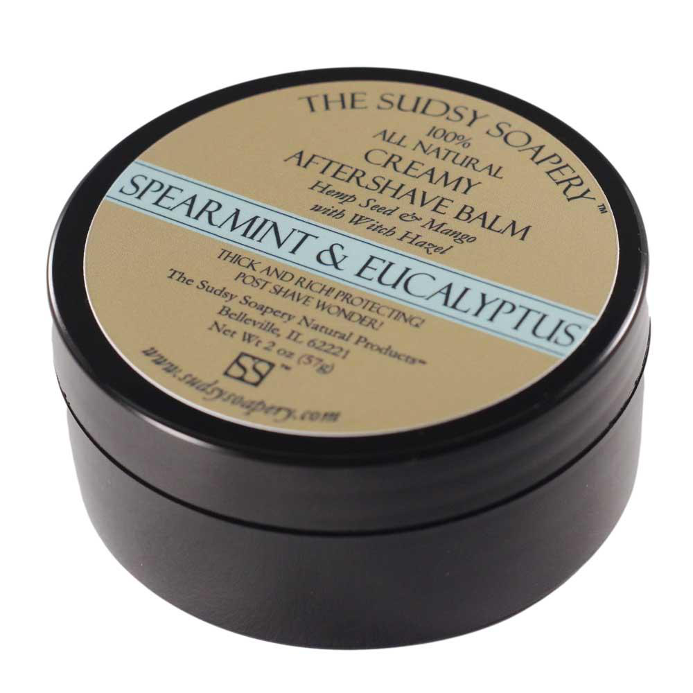 The Sudsy Soapery - Spearmint and Eucalyptus - Balm image