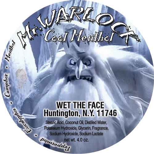 Wet The Face - Mr. Warlock - Soap image