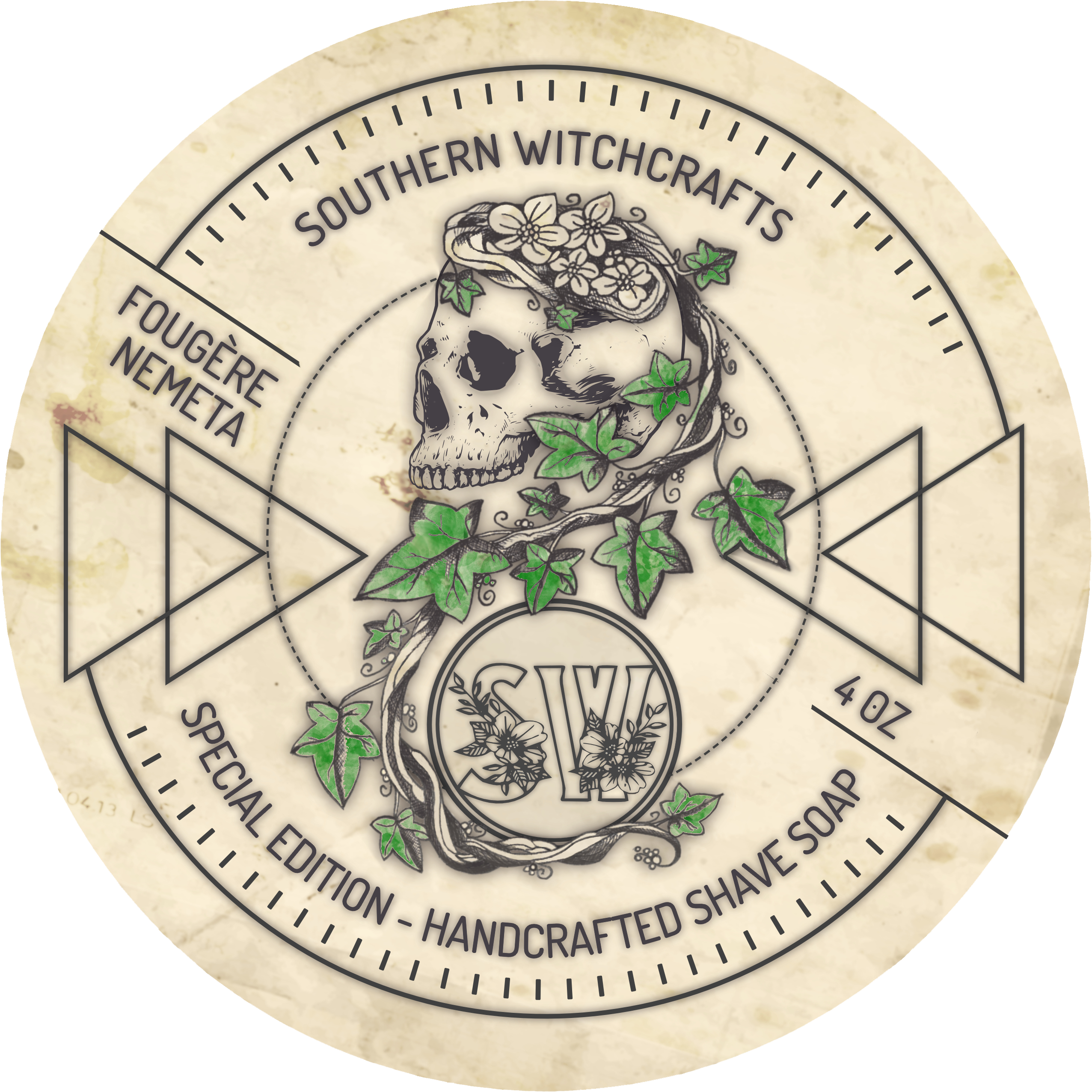 Southern Witchcrafts - Fougere Nemeta - Soap image