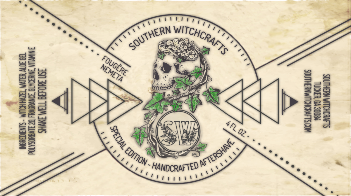 Southern Witchcrafts - Fougere Nemeta - Aftershave (Alcohol Free) image