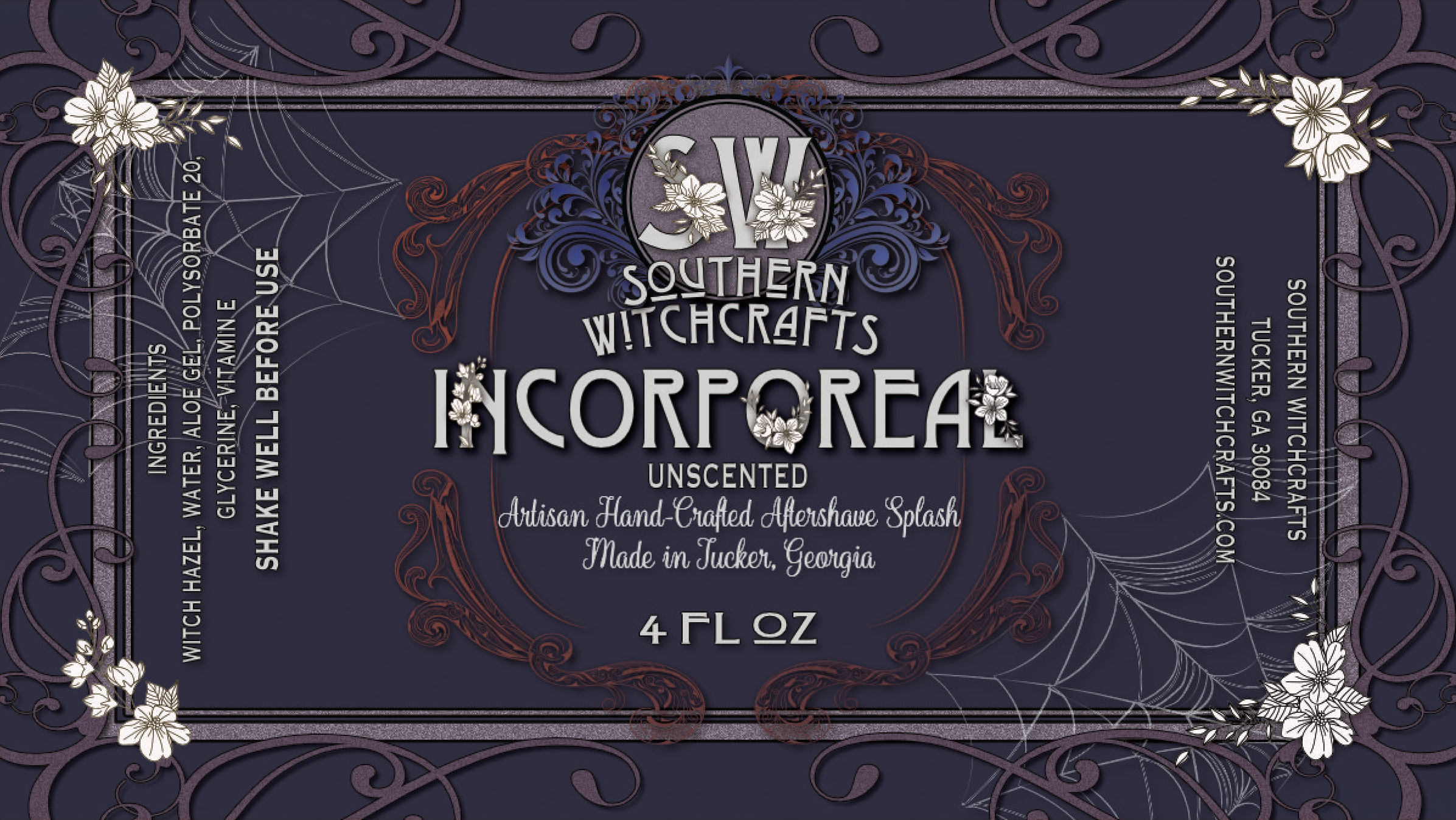 Southern Witchcrafts - Incorporeal - Aftershave (Alcohol Free) image