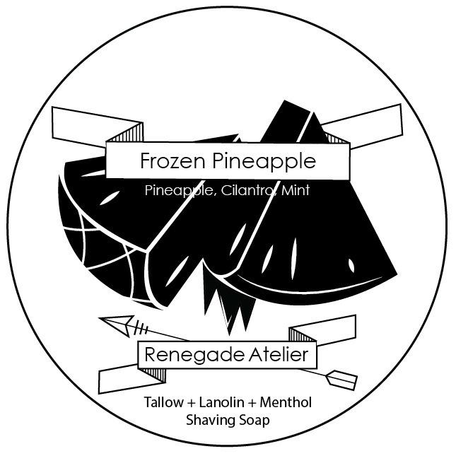 Renegade Atelier - Frozen Pineapple - Soap image