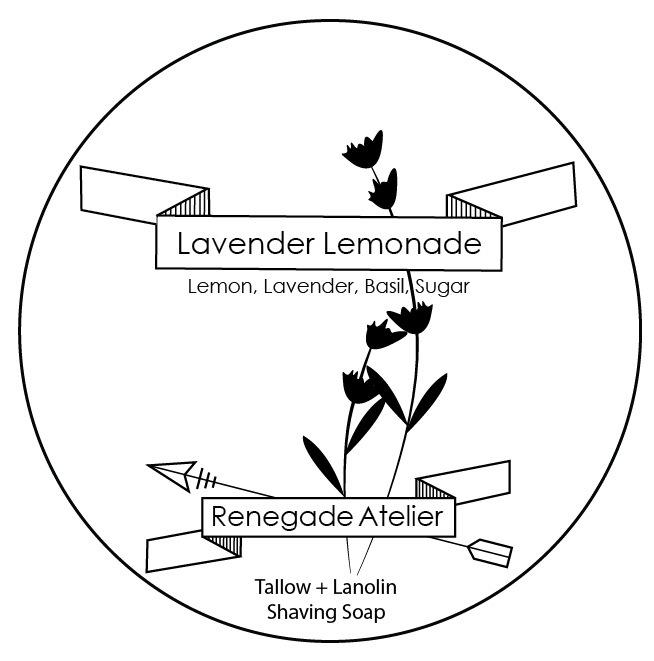 Renegade Atelier - Lavender Lemonade - Soap image
