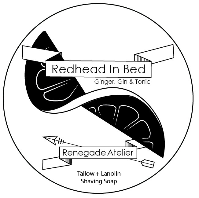 Renegade Atelier - Redhead in Bed - Soap image