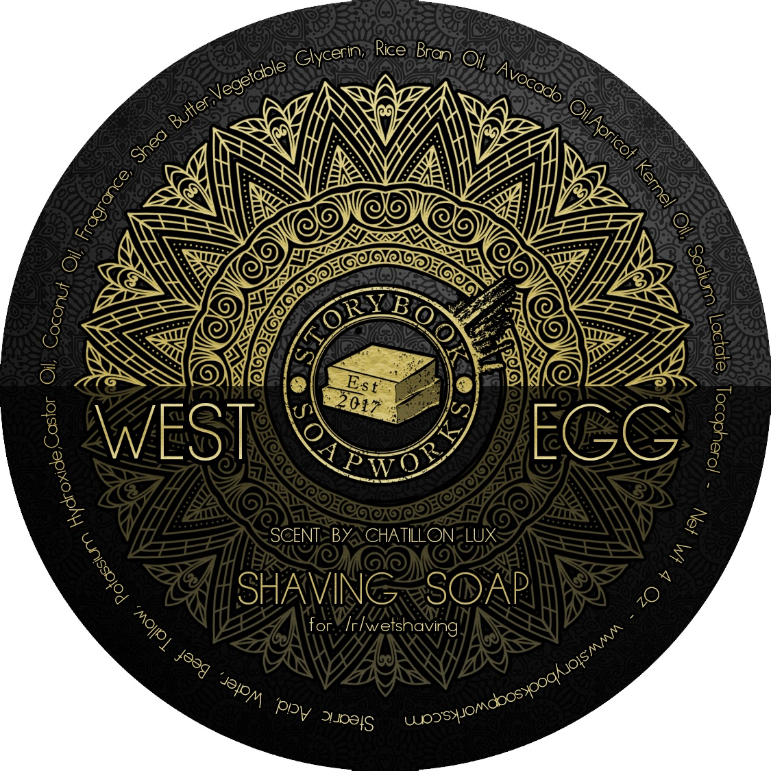 Chatillon Lux/Storybook Soapworks - West Egg - Soap image