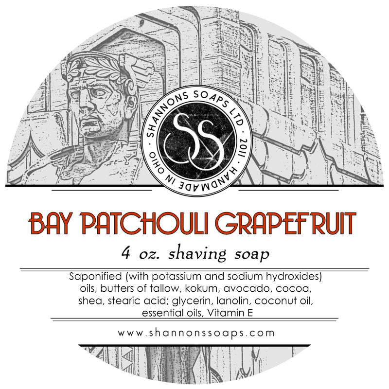 Shannon's Soaps - Bay Patchouli Grapefruit - Soap image