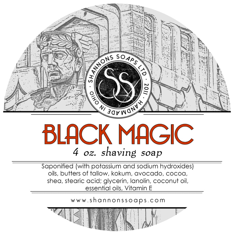 Shannon's Soaps - Black Magic - Soap image