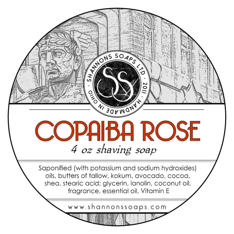 Shannon's Soaps - Copaiba Rose - Soap image