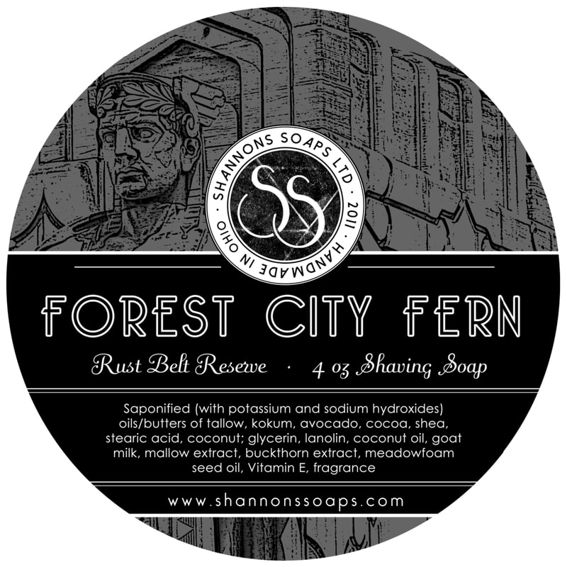 Shannon's Soaps - Forest City Fern - Soap image