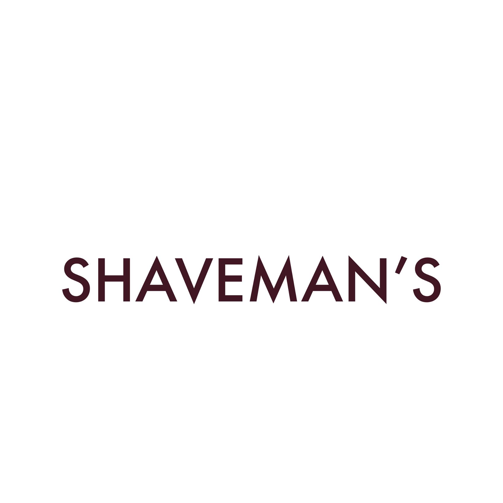 Shaveman's logo