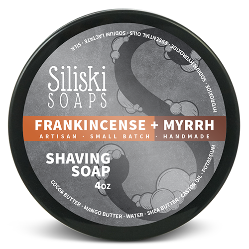 Siliski Soaps - Frankincense and Myrrh - Soap image