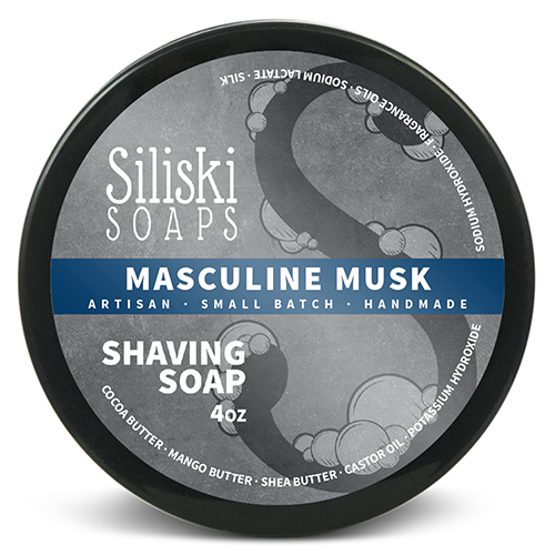 Siliski Soaps - Masculine Musk - Soap image