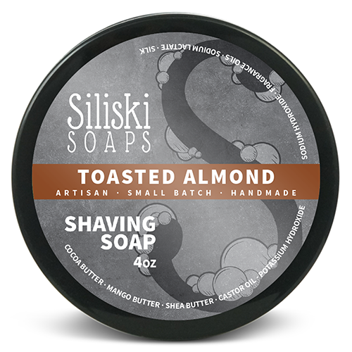 Siliski Soaps - Toasted Almond - Soap image