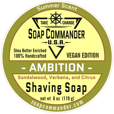 Soap Commander - Ambition - Soap (Vegan) image